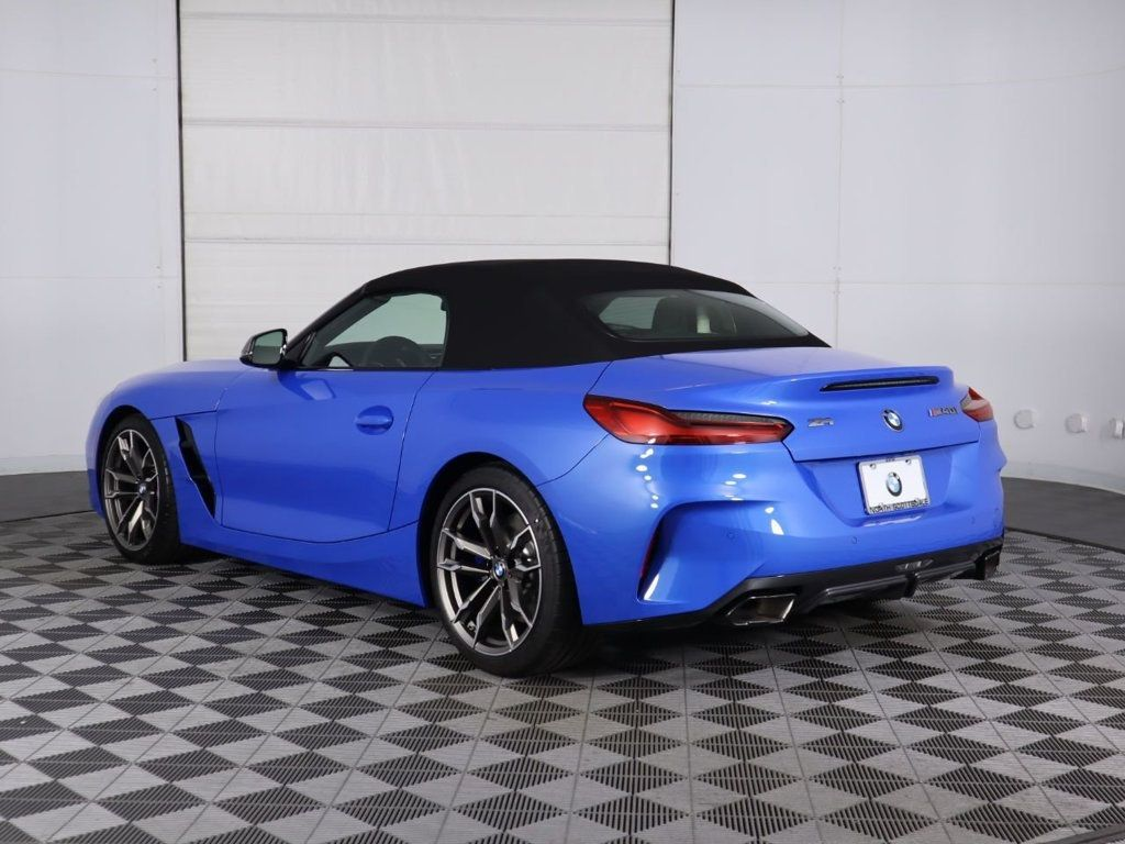 pre-owned 2020 bmw z4 m40i roadster convertible in phoenix
